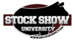 Description: STOCK SHOW UNIVERSITY logo
